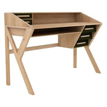 Oak Origami Desk By Ethnicraft At Lumens