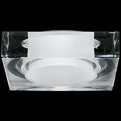 Faretti Lui Crystal Recessed Light (Remodel/LED) - OPEN BOX