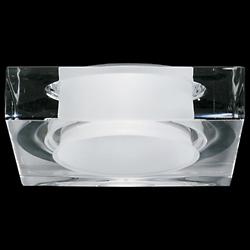 Faretti Lui Crystal Recessed Light (Non IC New/LED)-OPEN BOX