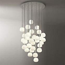 Lumi Mochi 30-Light Pendant