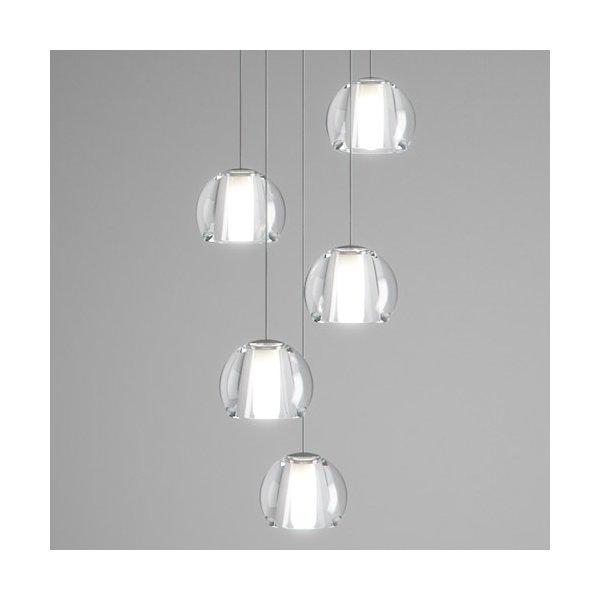Beluga Multispot 5-Light Round Pendant