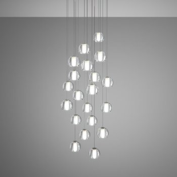 Beluga Multispot 20-Light Round Pendant