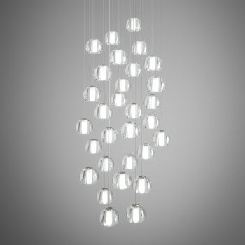 21 series multi light pendant by bocci at lumens com beluga multispot 30 light round pendant