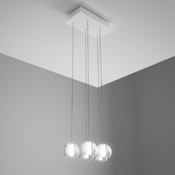 Beluga Multispot 5-Light Rectangular Pendant