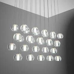 Beluga Multispot 30-Light Rectangular Pendant
