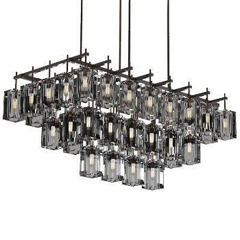 Monceau 3-Tier Linear Chandelier