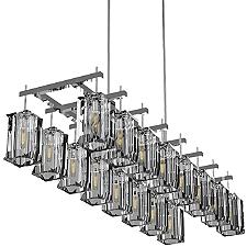 Monceau Double Linear Chandelier