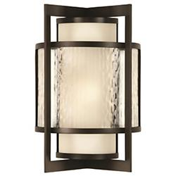 Singapore Moderne Outdoor Wall Sconce (Large) - OPEN BOX