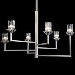 Neuilly Chandelier (Silver Leaf/Small) - OPEN BOX RETURN