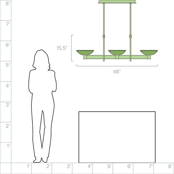 Delphi LED Linear Suspension