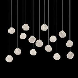 Vesta LED Rectangular Multi Light Pendant
