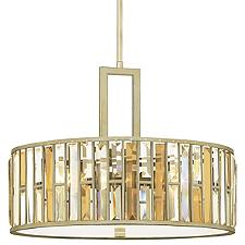 Gemma Drum Pendant Light
