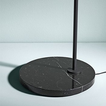 Shown in Black Marquina Marble Base