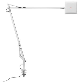 Shown in White finish with Desk Support Hidden Cable