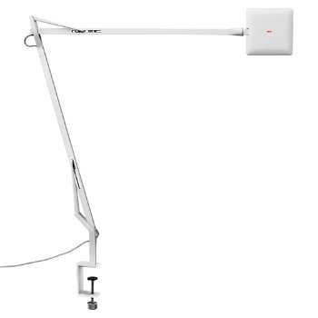 Shown in White finish with Clamp