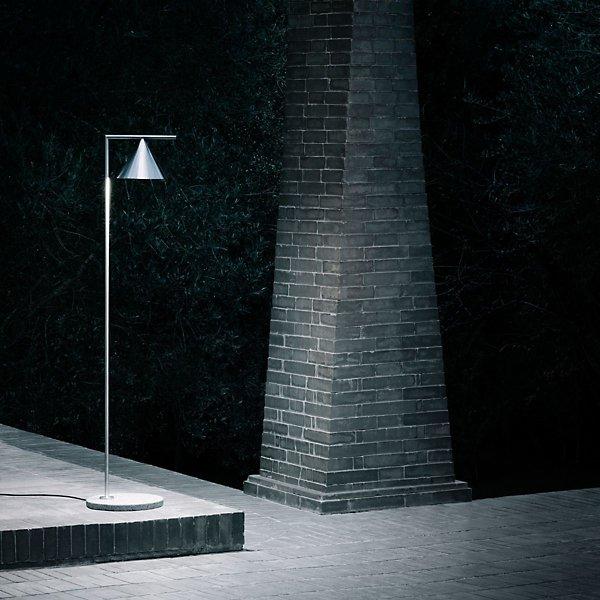 Captain Flint Outdoor LED Floor Lamp