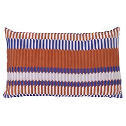 Salon Pleat Lumbar Pillow