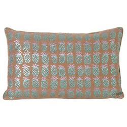Salon Pineapple Lumbar Pillow