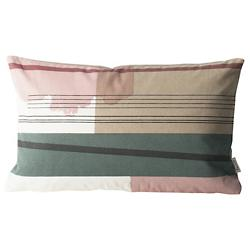 Colour Block Throw Pillow Small 1