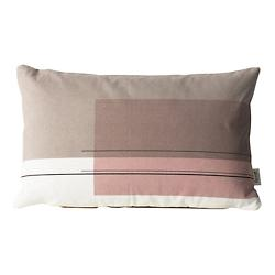 Colour Block Throw Pillow Small 4
