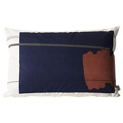 Colour Block Throw Pillow Large 1