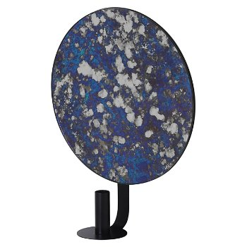 Shown in Blue - Round