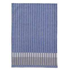 Grain Jacquard Tea Towel by FermLiving(Blue)-OPEN BOX RETURN