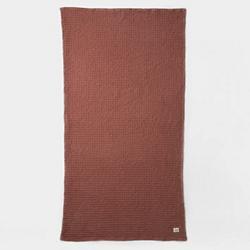 Organic Bath Towel by Ferm Living (Rust) - OPEN BOX RETURN