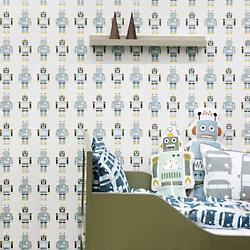 Robots Wallpaper for Kids