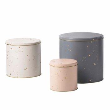 Confetti Tin Boxes Set