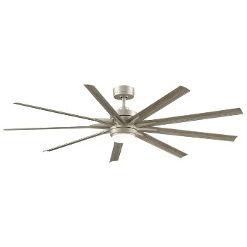 Shown in Brushed Nickel with Brushed Nickel, 72.00 inch