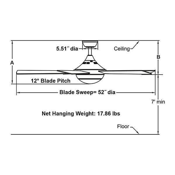Celano V2 Ceiling Fan