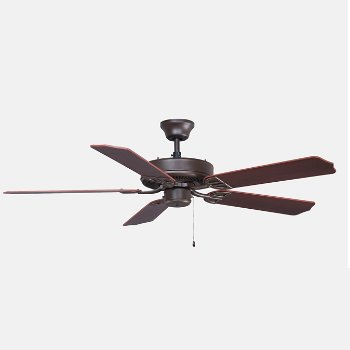 Shown in Oil Rubbed Bronze Fan Body With Walnut Blade finish