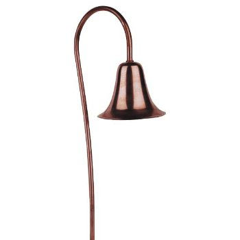 Copper Bell Path Light