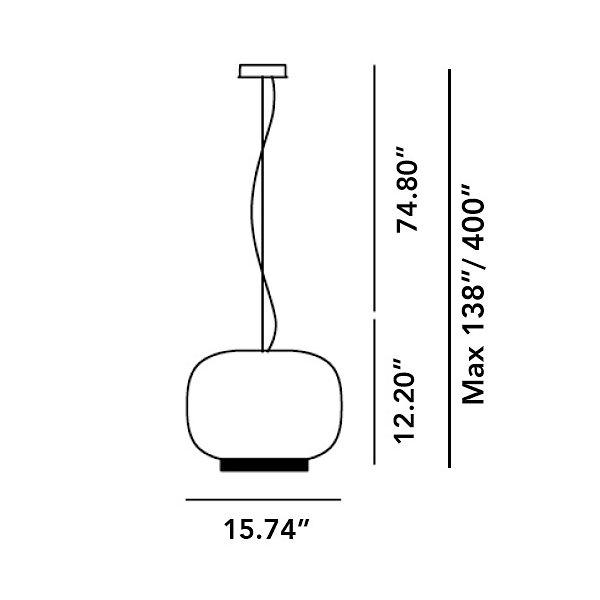 Chouchin 1 Reverse Pendant
