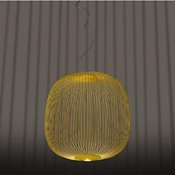 Spokes Round LED Pendant (Yellow/200) - OPEN BOX RETURN