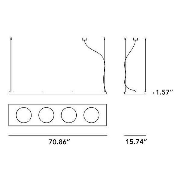 Dolmen Linear Suspension