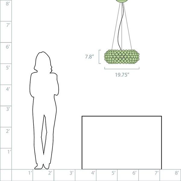 Caboche LED Pendant