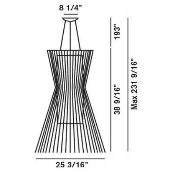 Allegro Vivace LED Suspension