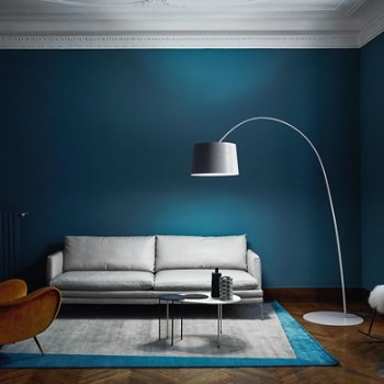 Twiggy Arc Floor Lamp, in use
