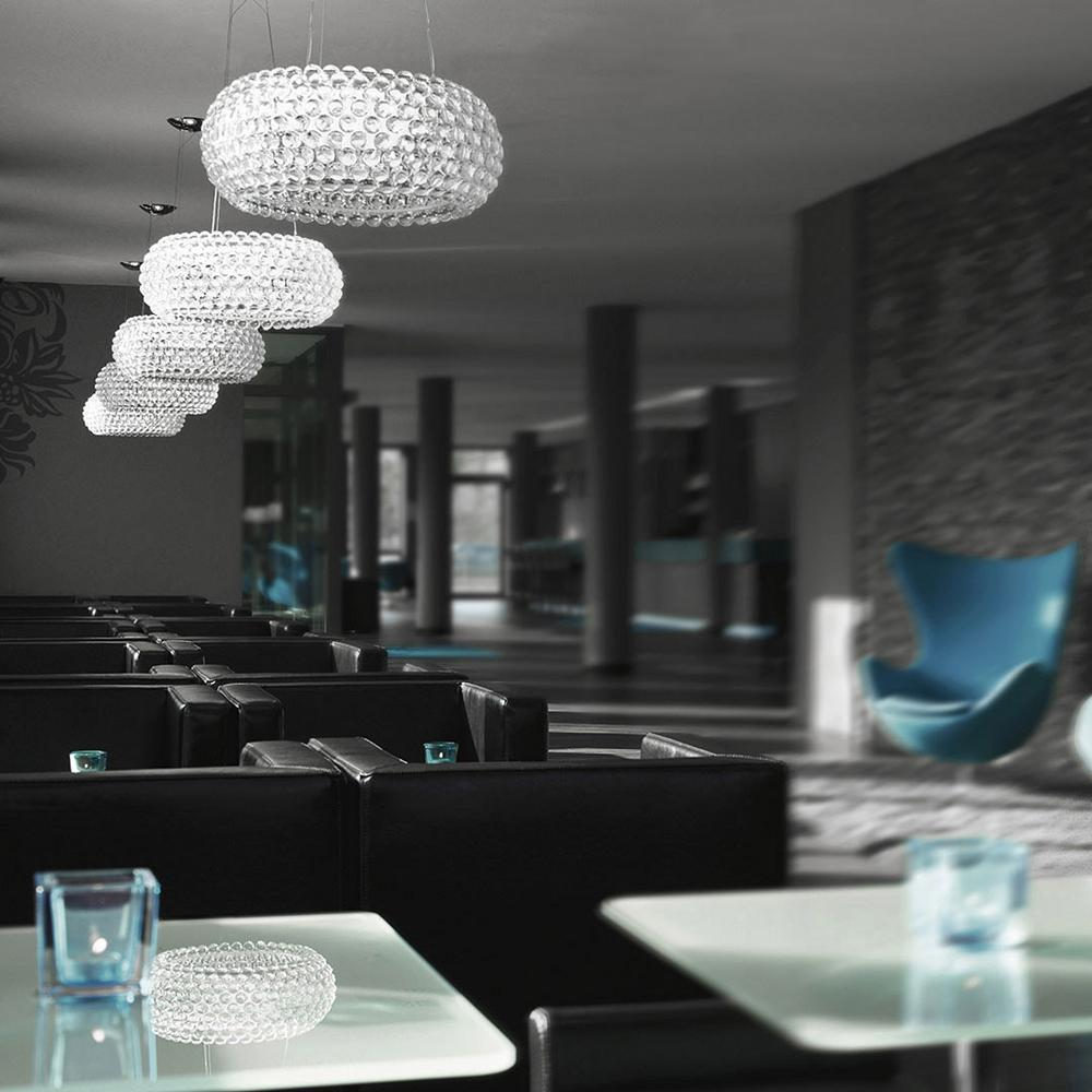 Commercial Glass Pendant Lighting