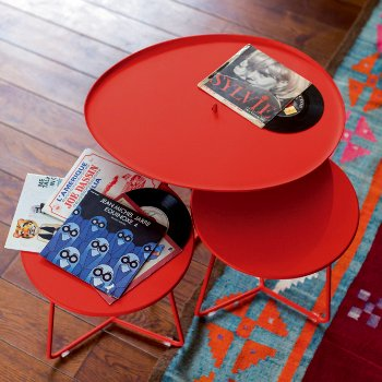 Cocotte Small Side Table, in use