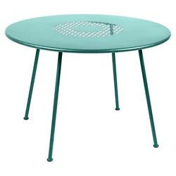 Lorette Round Perforated Table