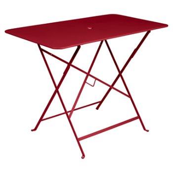 Shown in  Poppy Red Flat Satin, 38 inch x 22 inch