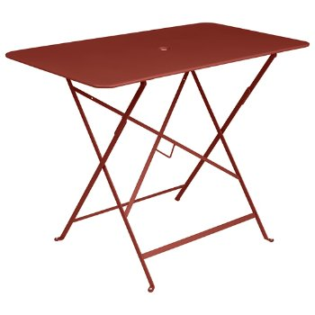 Shown in Red Ochre Matte Textured, 38 inch x 22 inch