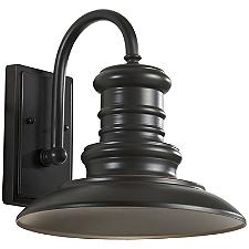 Redding Station LED Outdoor Wall Sconce