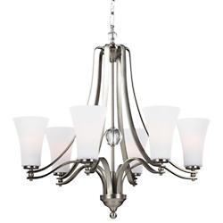 Evington Chandelier with Shade