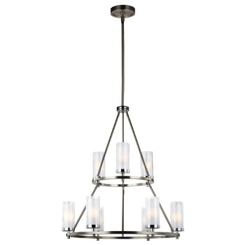 Jonah 2-Tier Chandelier by Feiss at Lumens.com