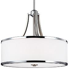 Prospect Park Drum Pendant Light