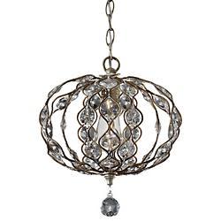 Leila Pendant (Burnished Silver) - OPEN BOX RETURN